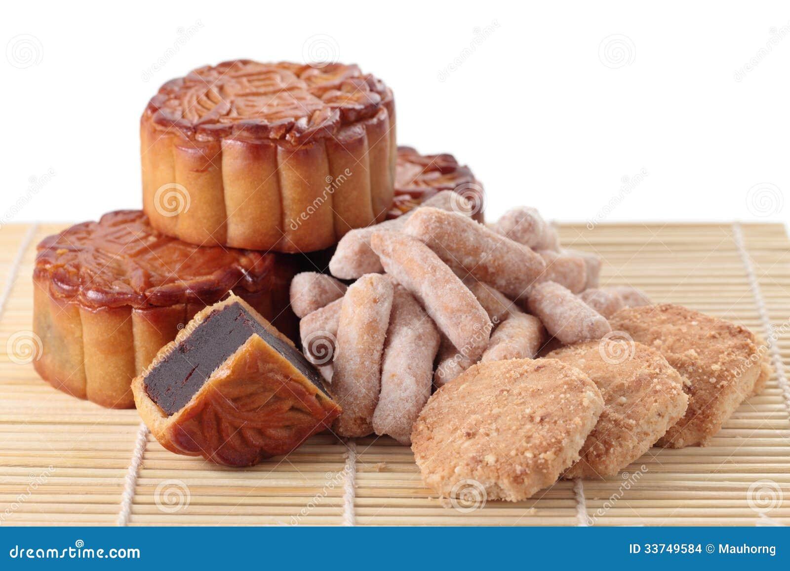 Mooncakes και ζύμη