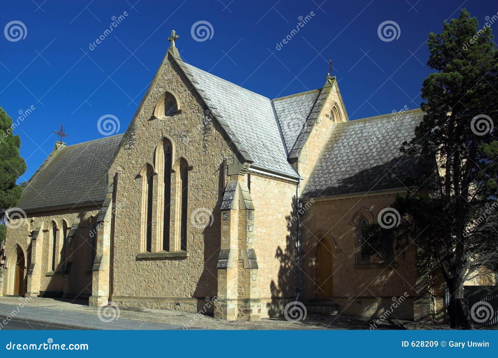 Download Moonta Англиканской церкви стоковое изображение. изображение насчитывающей висок - 628209