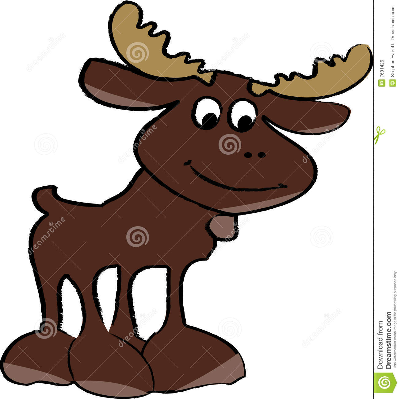 cartoon moose stock photos images u0026 pictures 36 images