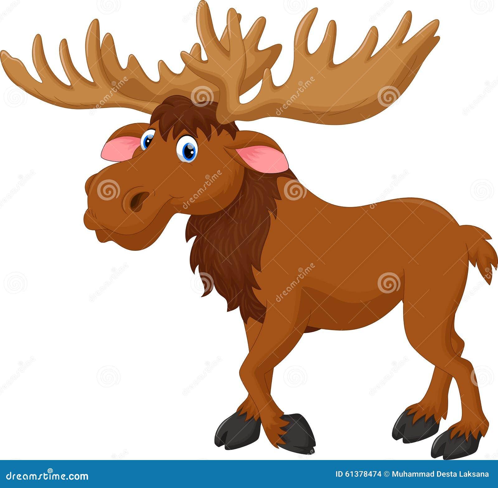 moose cartoon stock illustration image 61378474 moose clipart illustrations moose clip art free