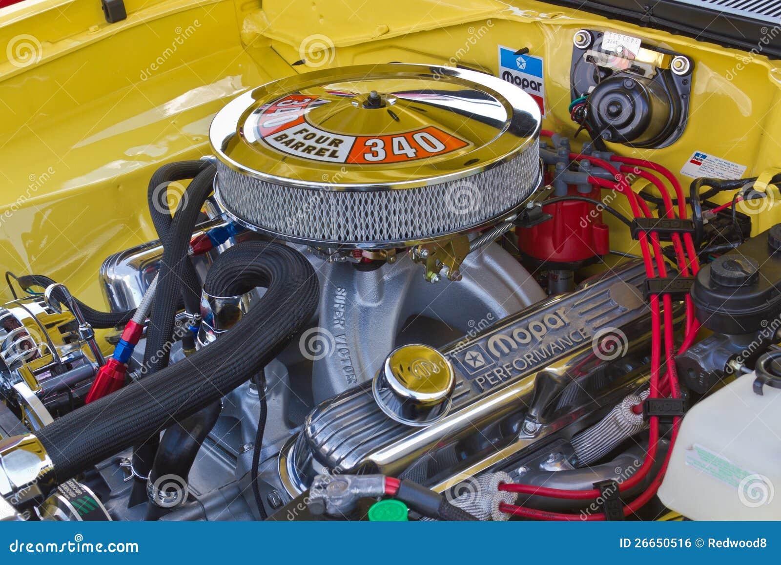 4.7 Dodge Engine >> Mopar 340 Engine editorial photo. Image of barrel, parts - 26650516