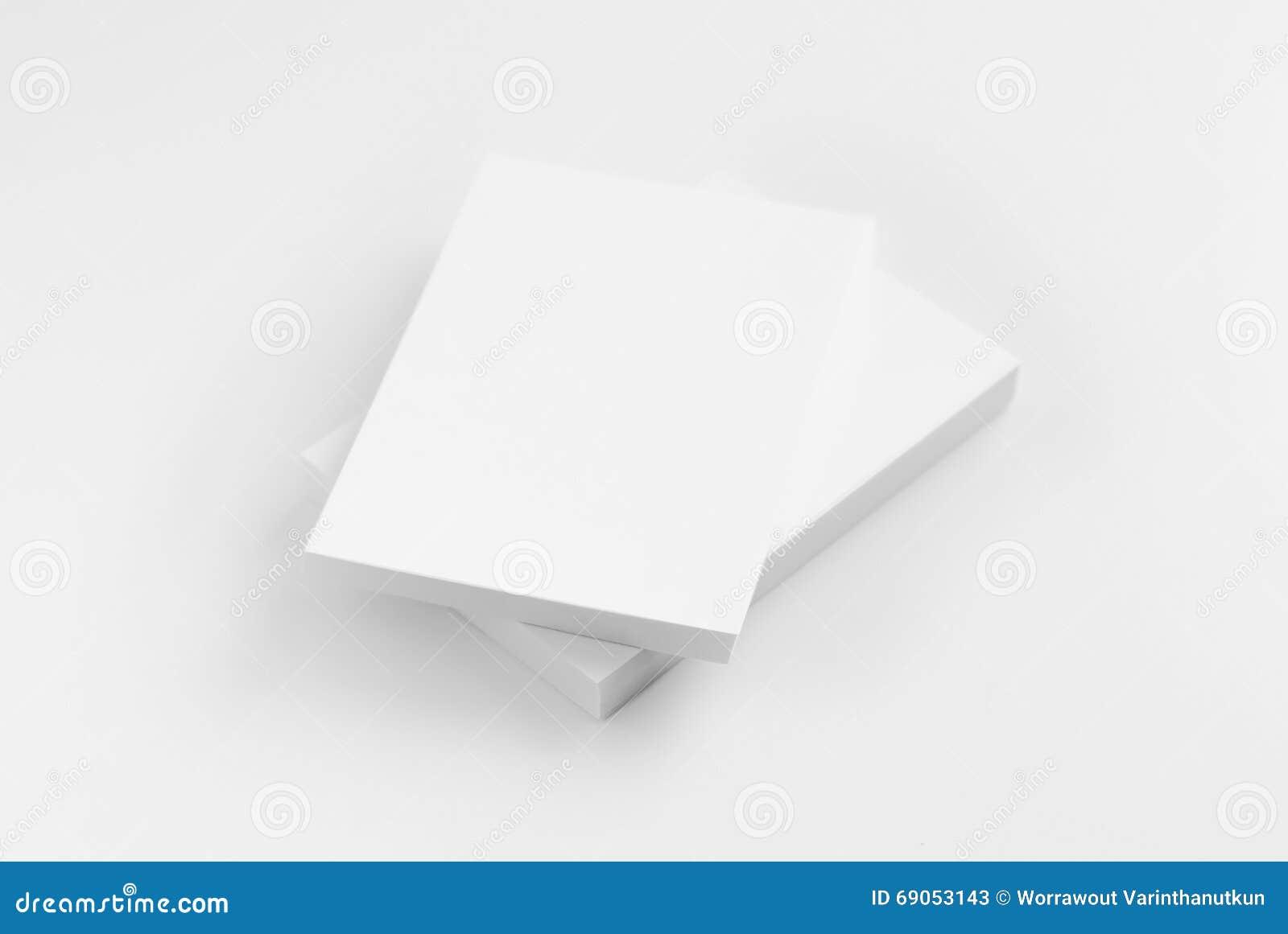 Moquerie Vers Le Haut De Livre Noir Et Blanc Image Stock