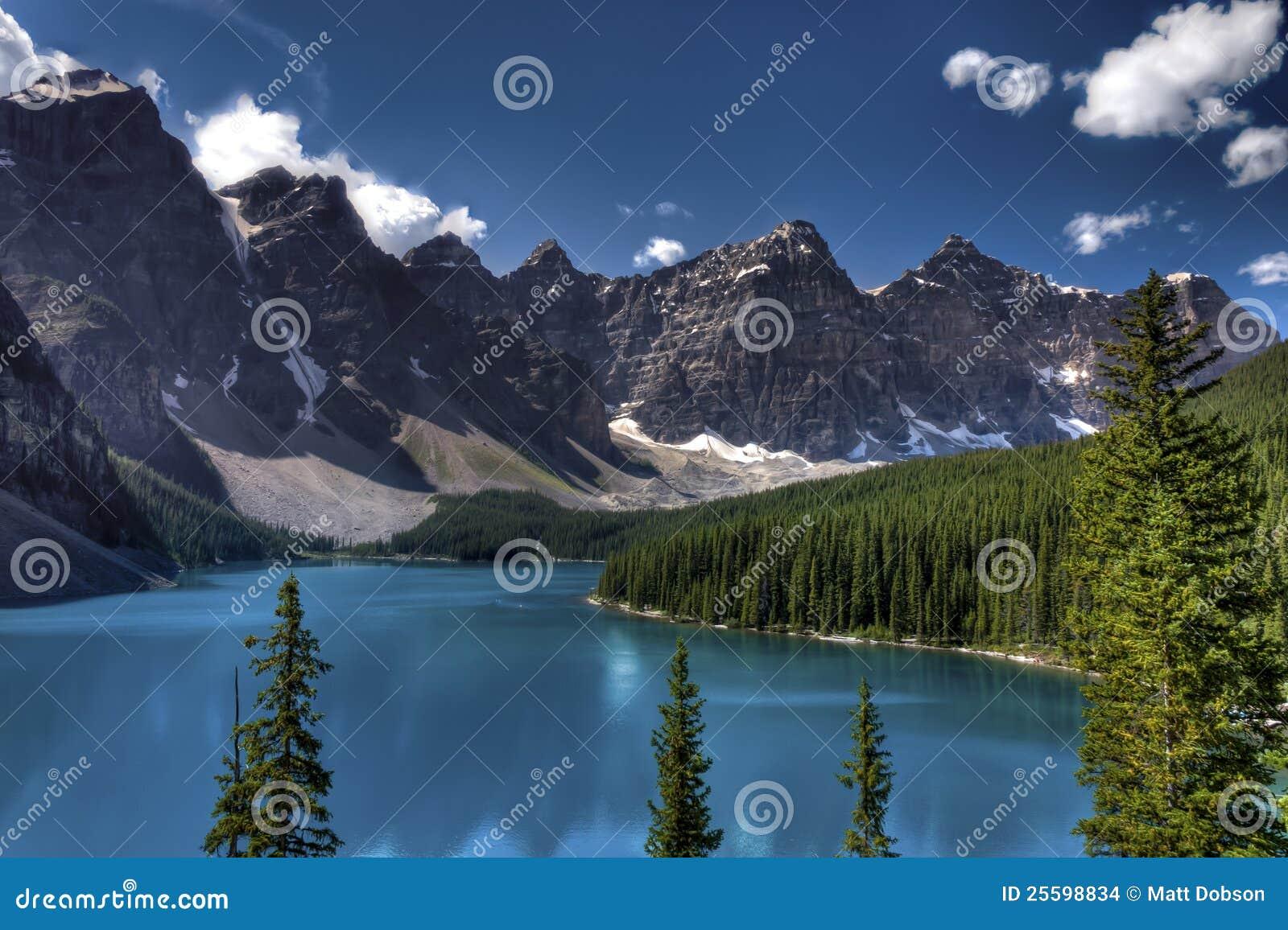 Moraine lake, Banff National Park, Canada