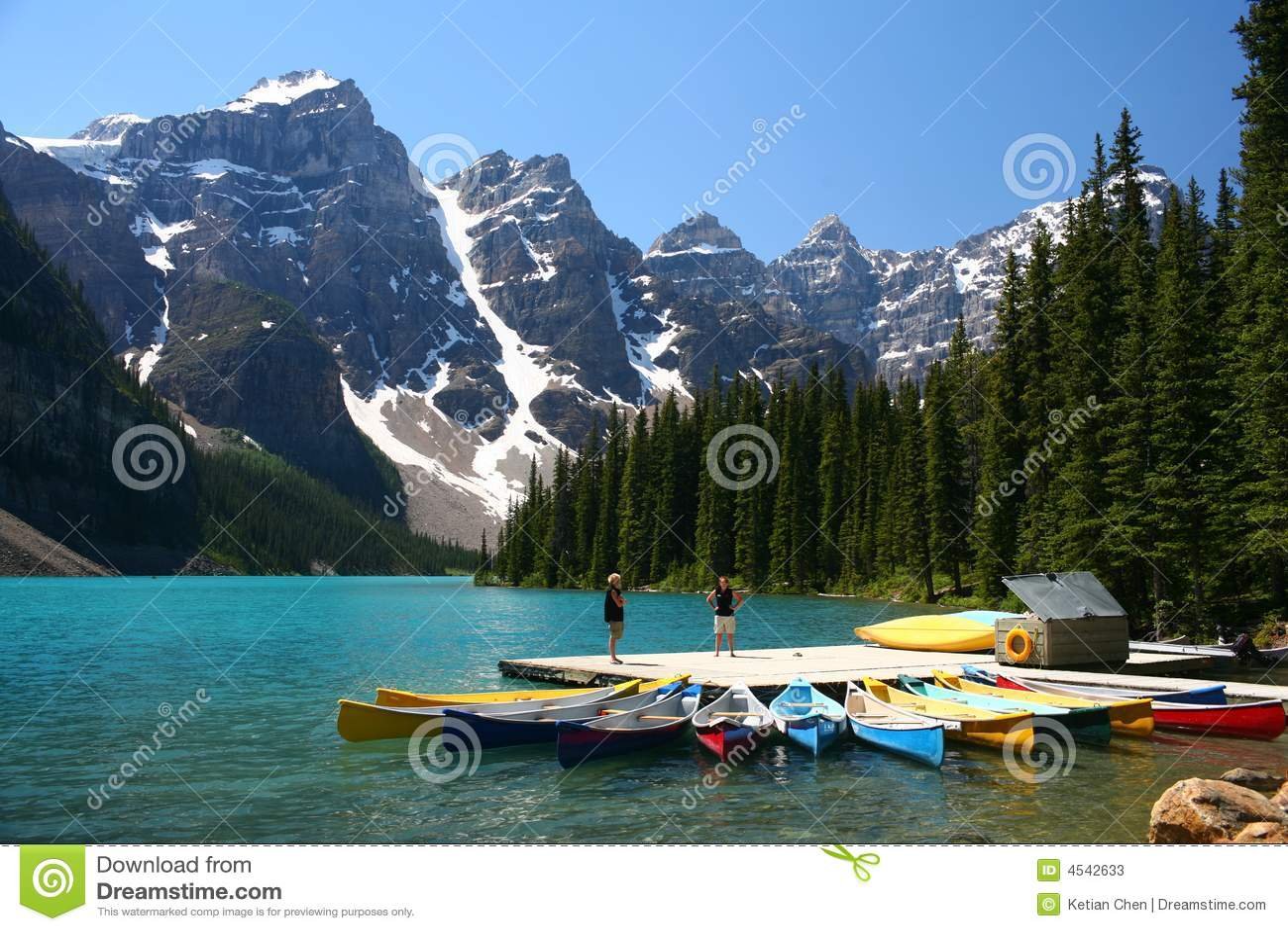 Moraine See, Banff-Nationalpark, Kanada