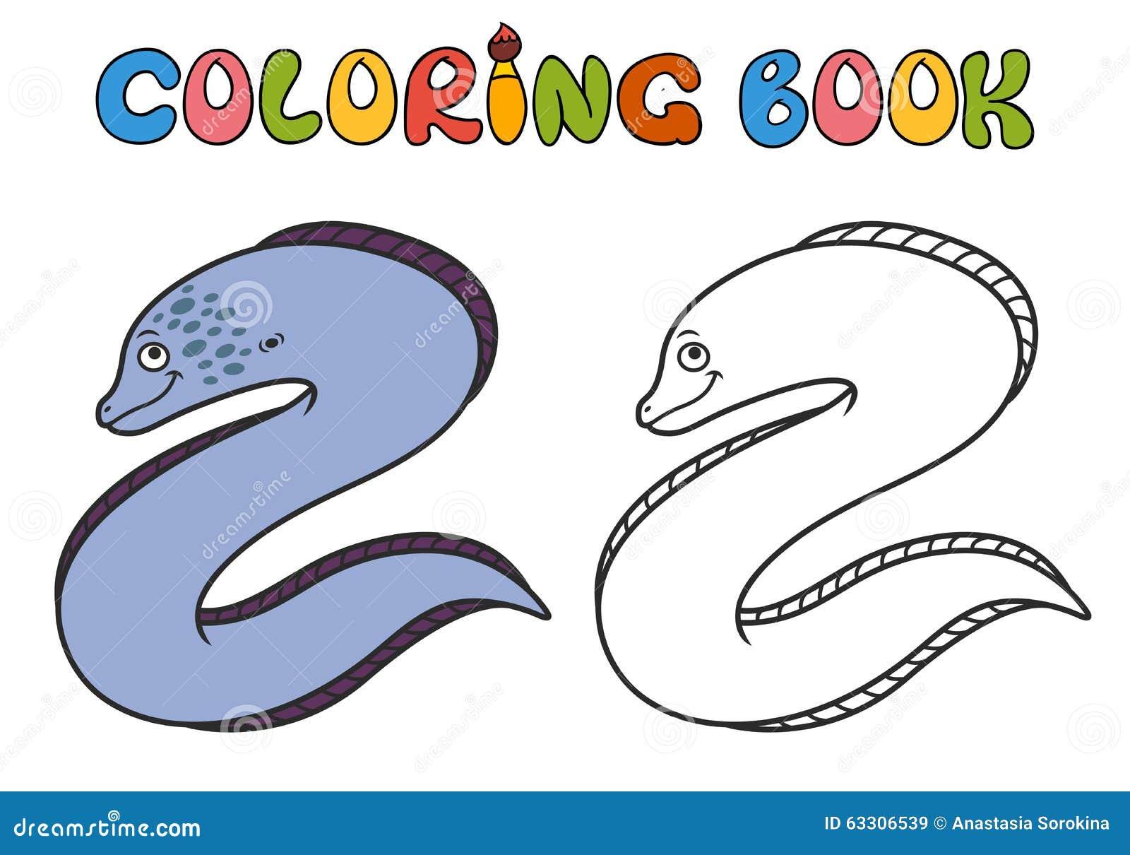 Moray Eel Cartoon