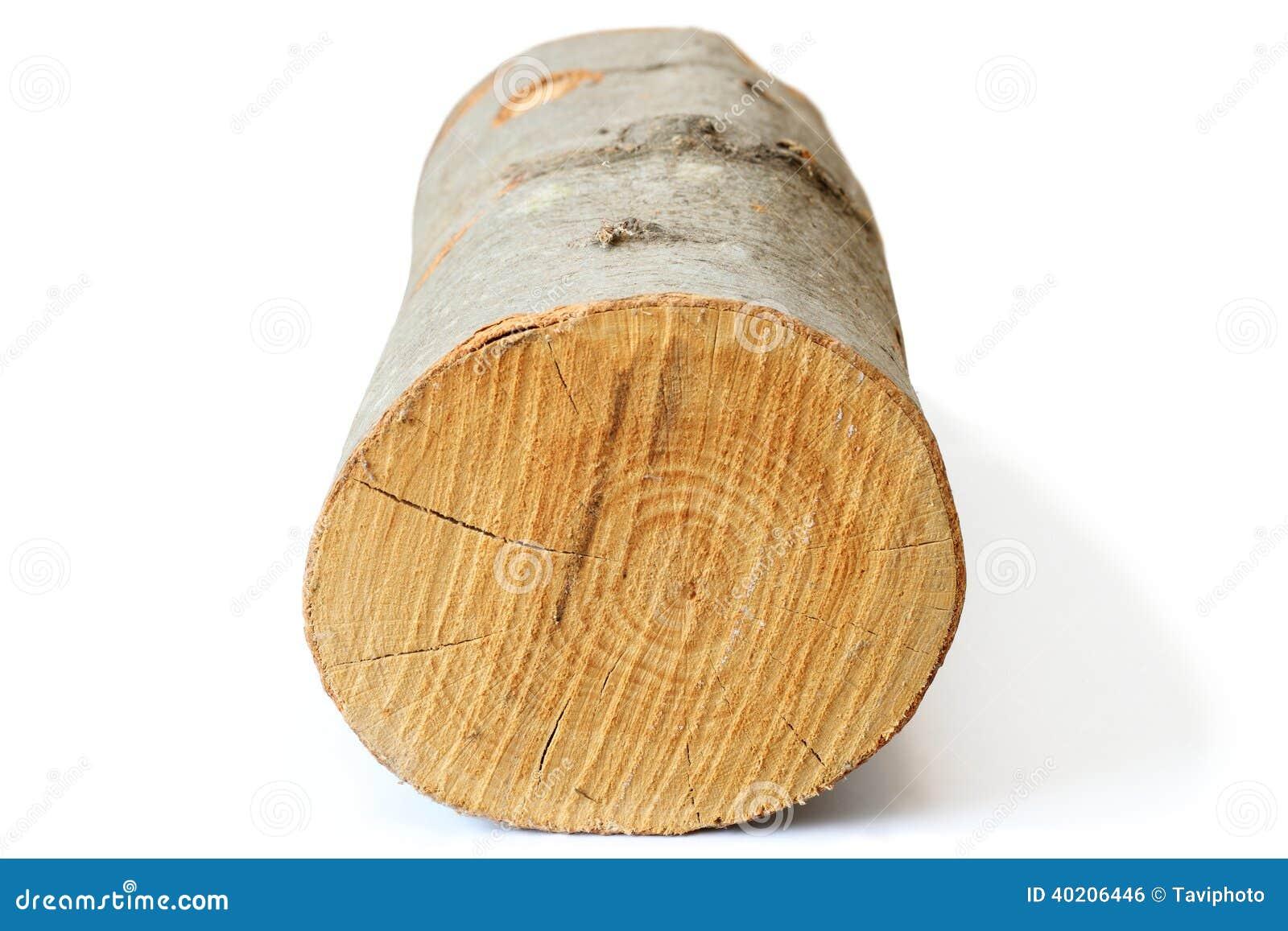 Morceau De Bois De Chauffage Sur Le Blanc Photo stock Image 40206446 # Bois Blanc Chauffage