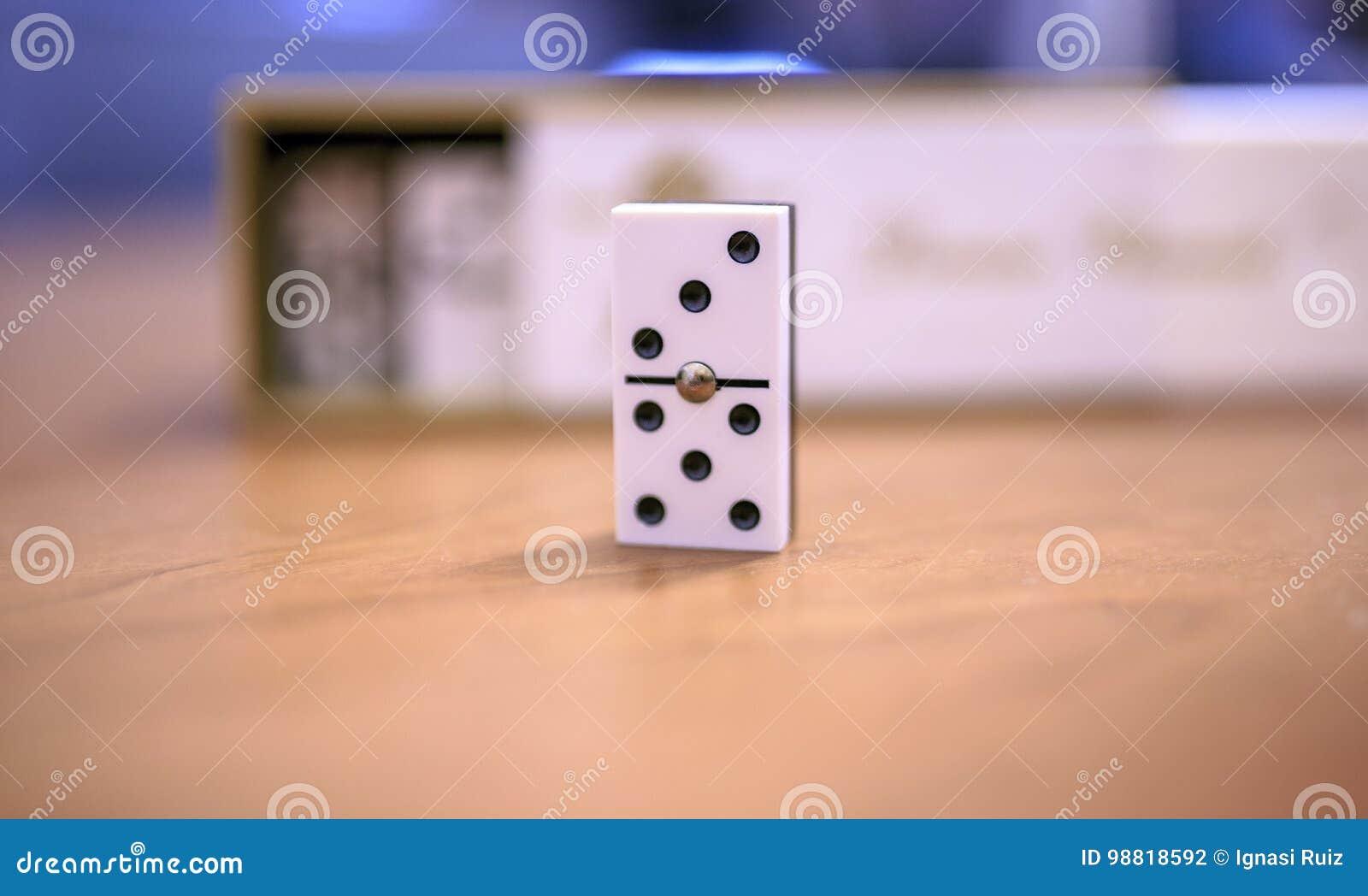 Morceau trois et cinq de domino