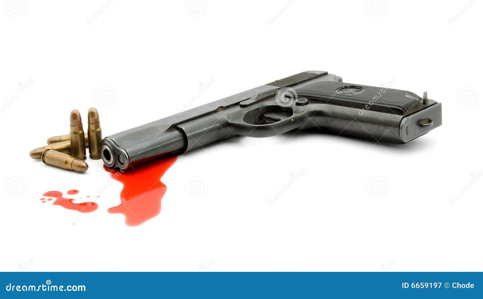 Mord för blodbegreppstryckspruta