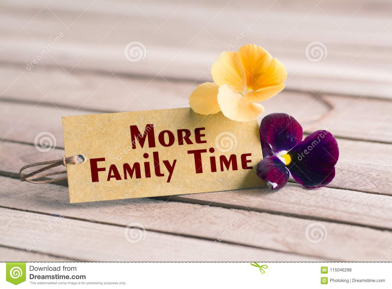 More family time tag