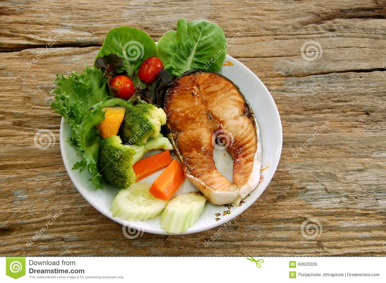 More fish dish is better stock photo image 60620026 for Fish and more