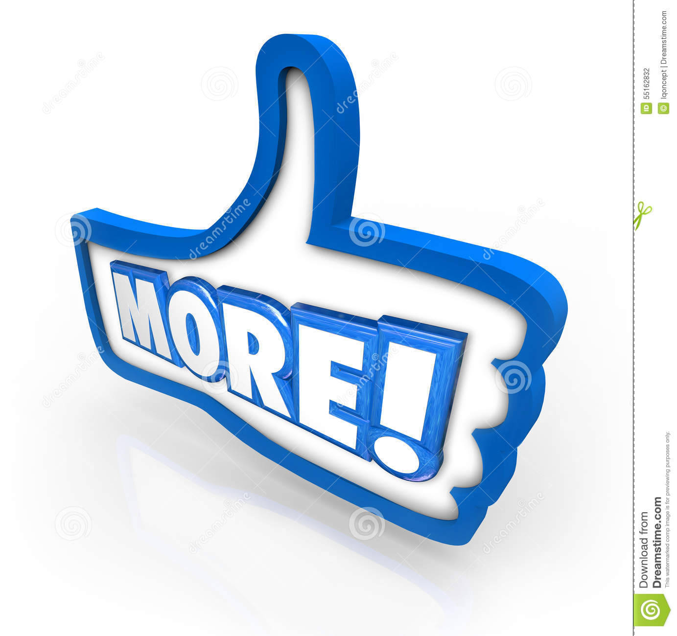 More Thumbs Up Increase Improve Results Approve Added Results Stock