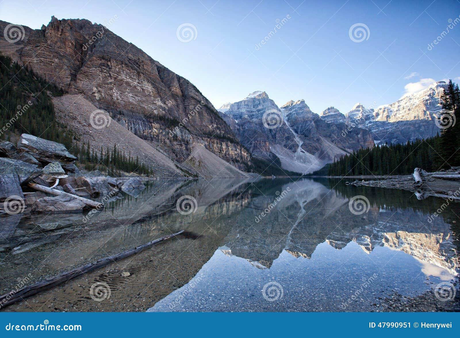 Morena canada jeziora