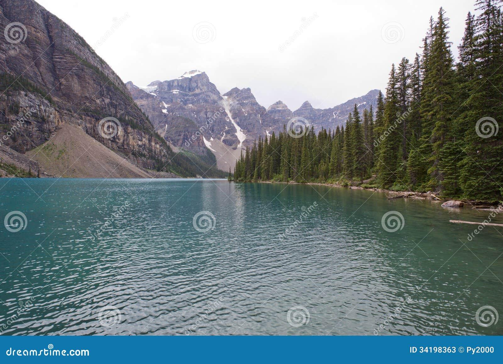 Morena jezioro, Banff, Alberta, Kanada