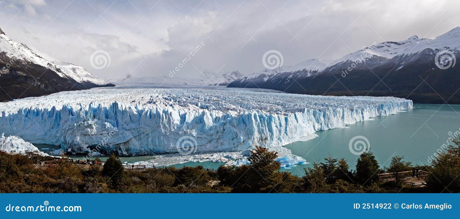 Moreno panoramy perito lodowej