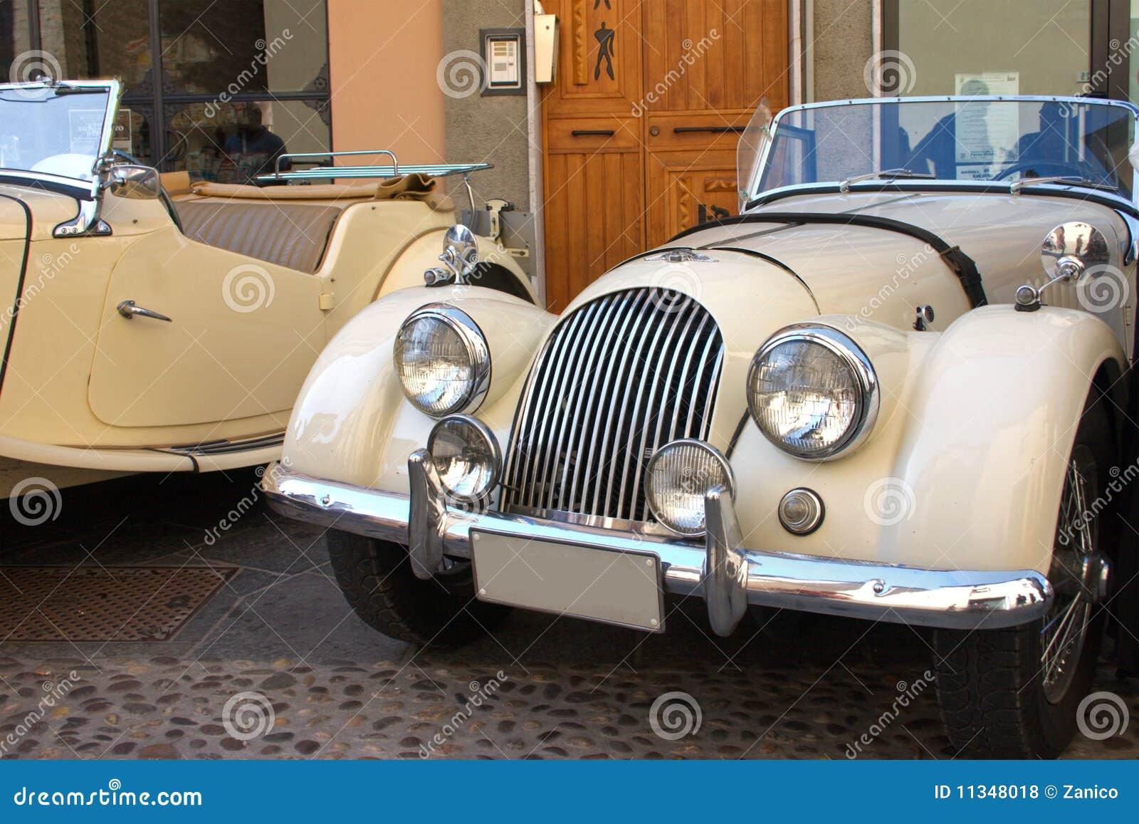 The Morgan Classic Car