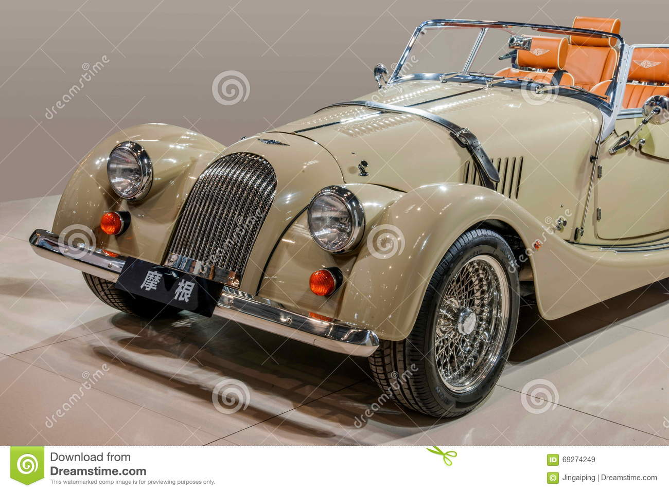 Morgan classic cars editorial stock image. Image of consistent ...
