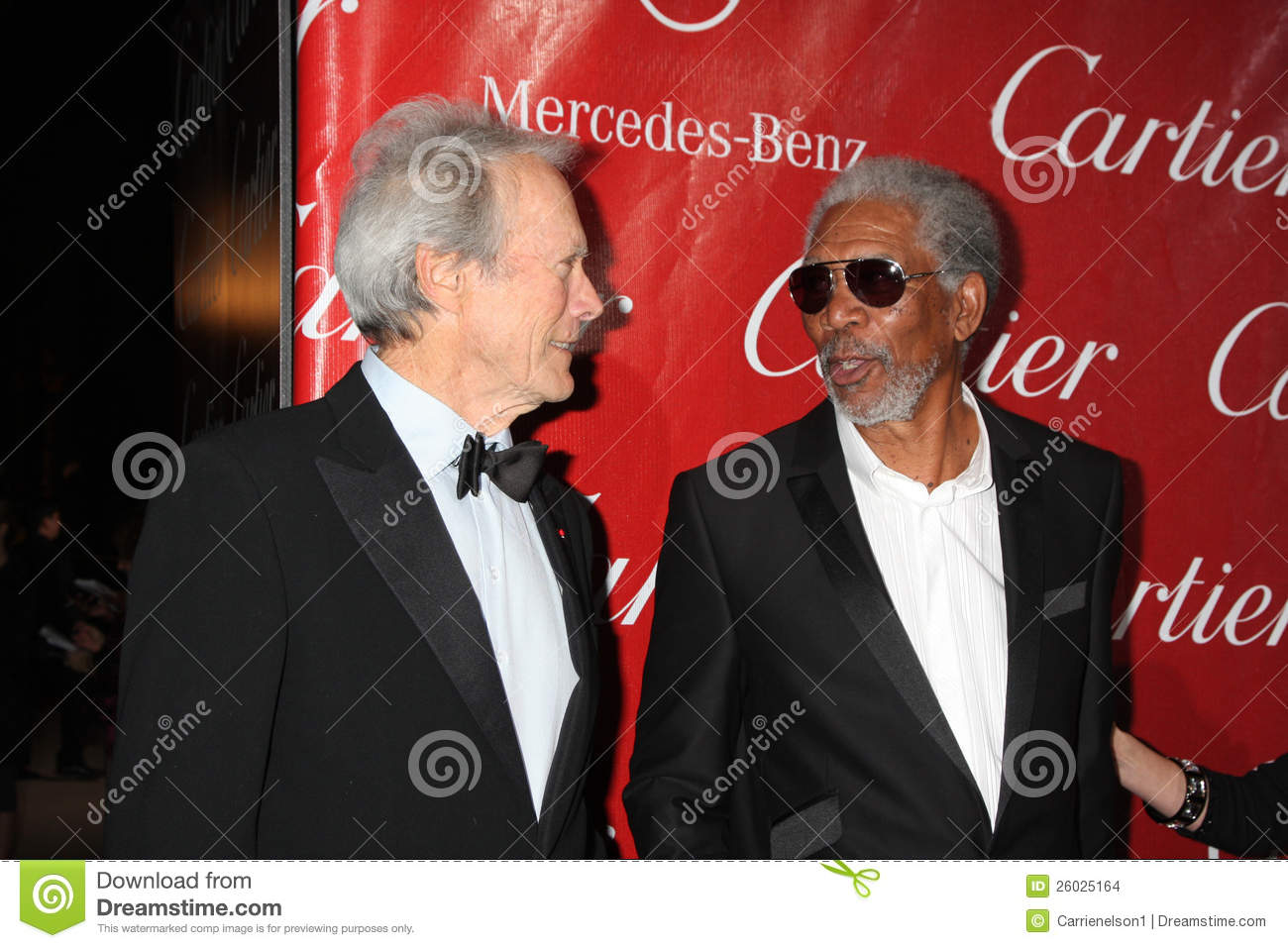 Morgan Freeman, Clint Eastwood Redactionele Stock ...