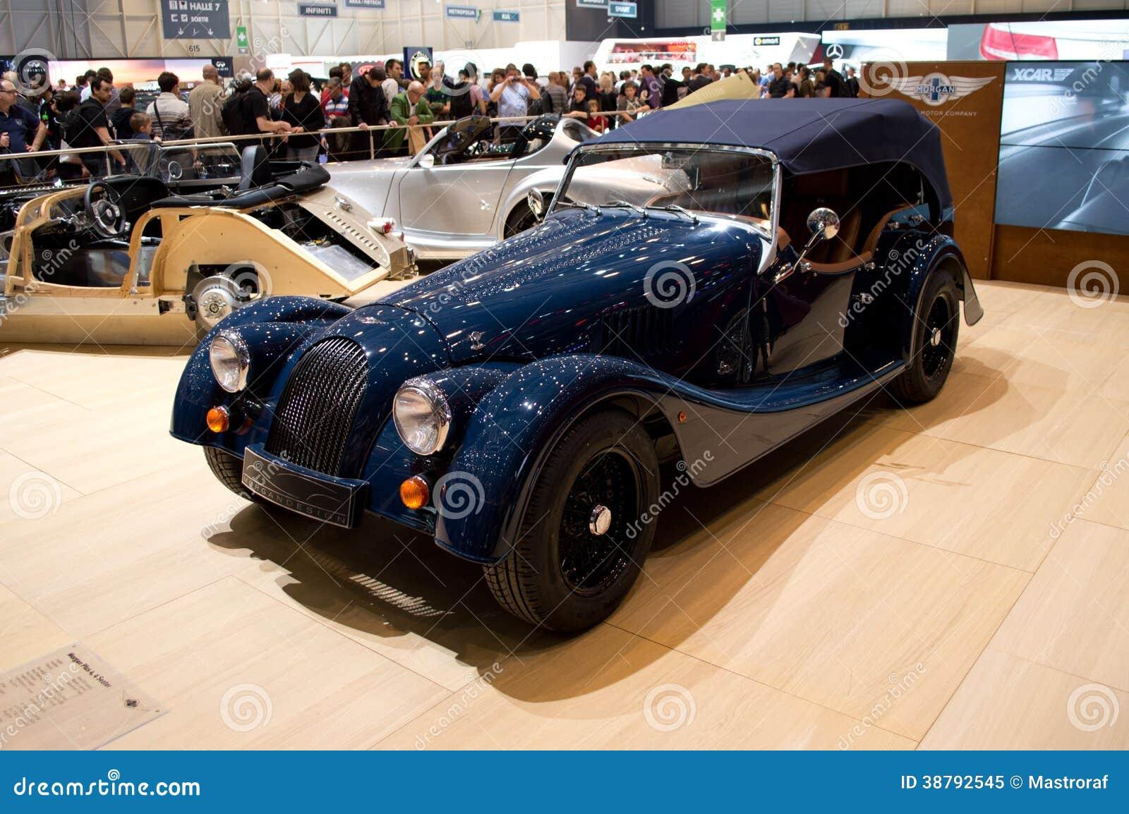 Morgan roadster geneva 2014 editorial image image 38792545 - Salon de lauto geneve ...