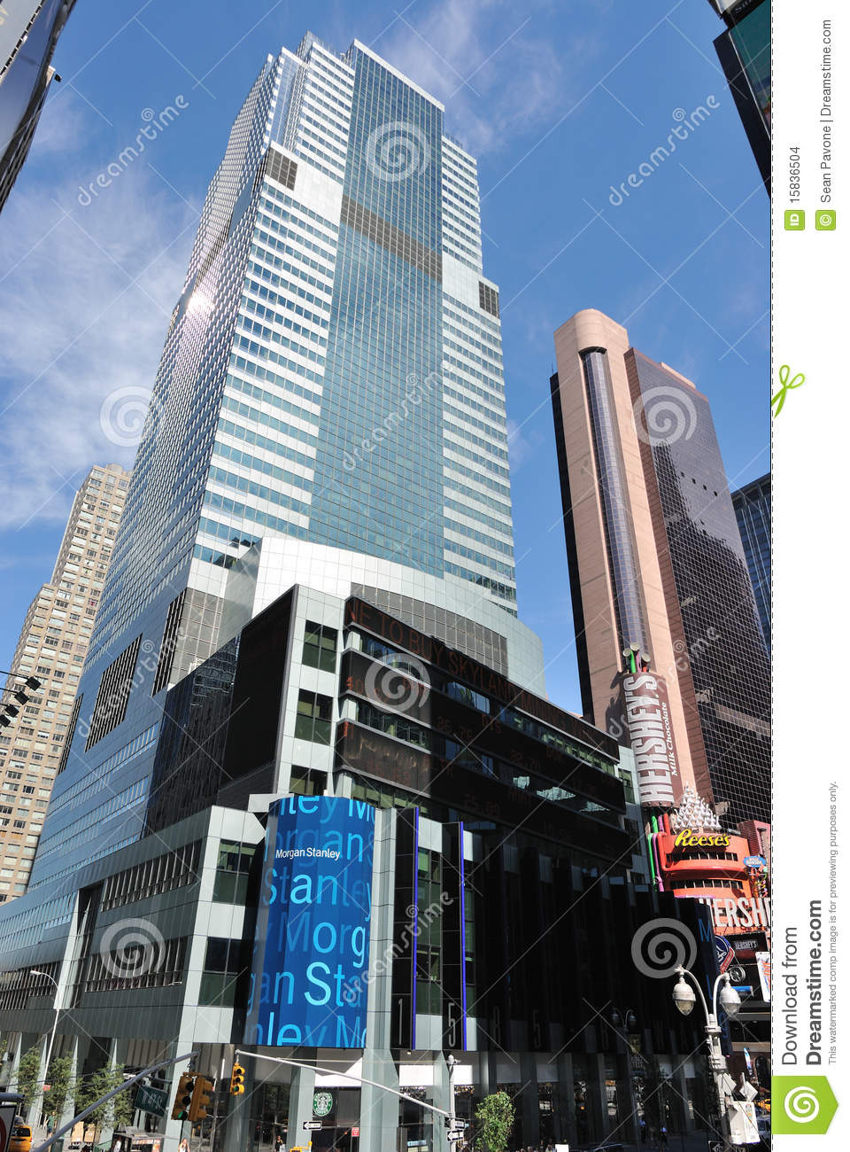 Morgan Stanley Headquarters Editorial Stock Image - Image of