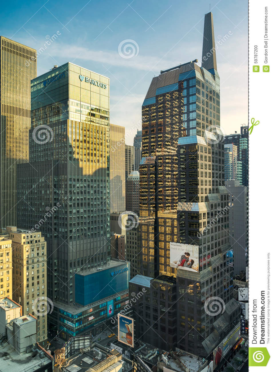 Morgan Stanley New York Head Office Editorial Image - Image