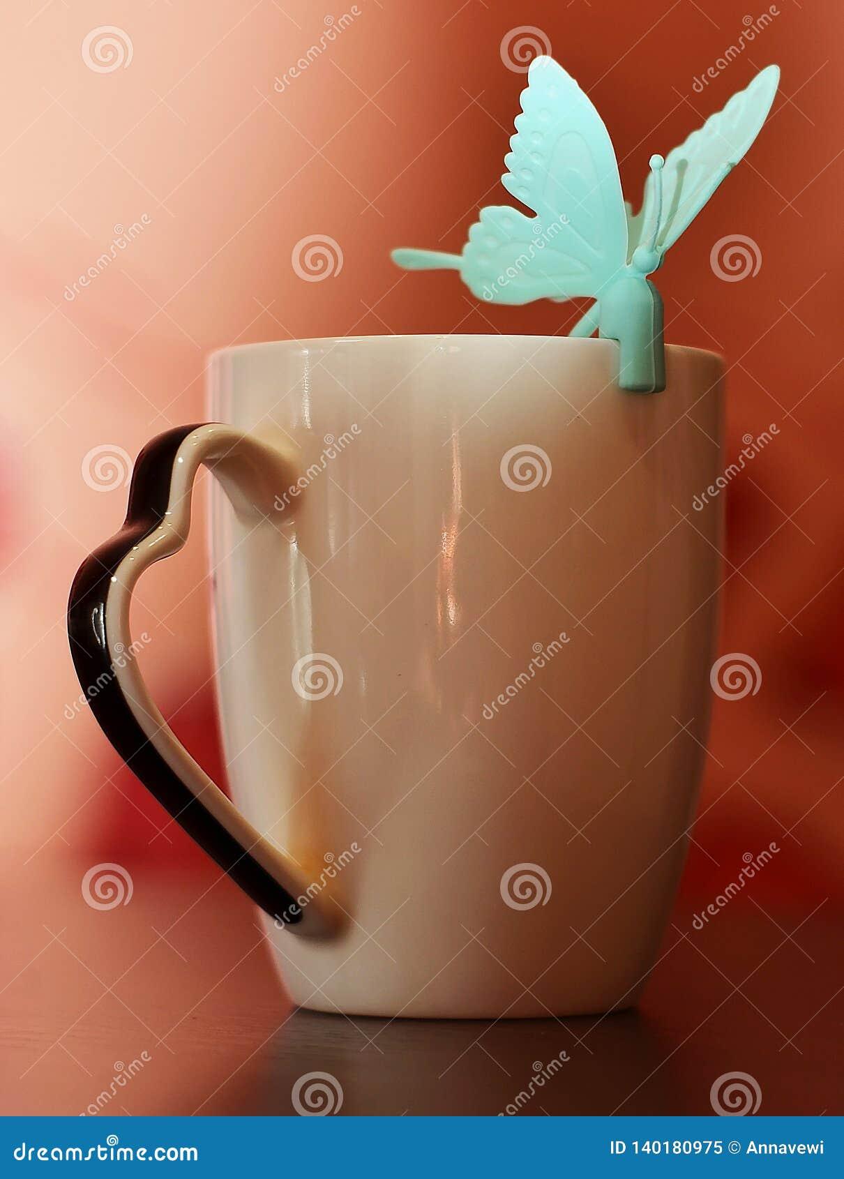 Morgon för kaffekopp