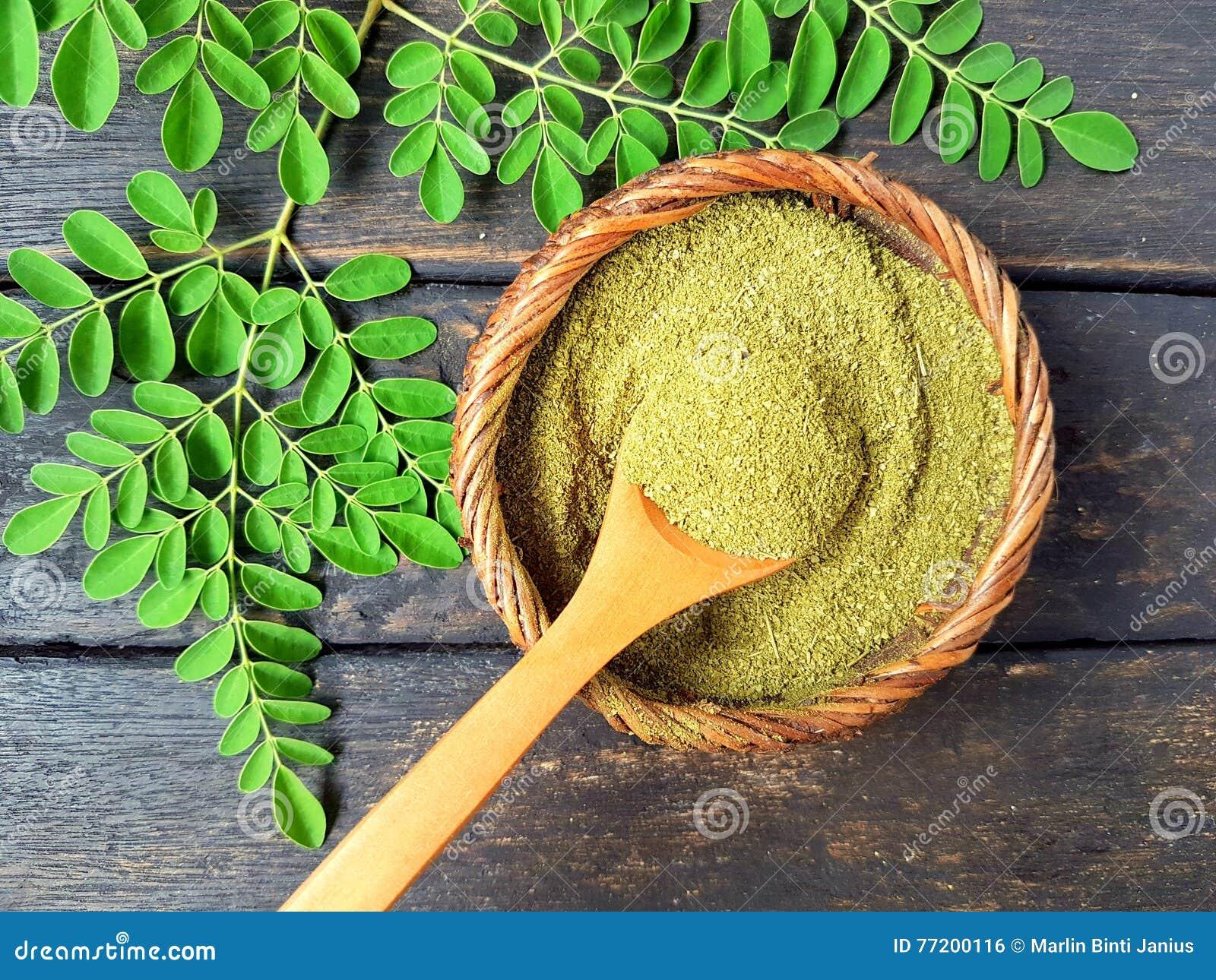 Moringa σκόνη φύλλων