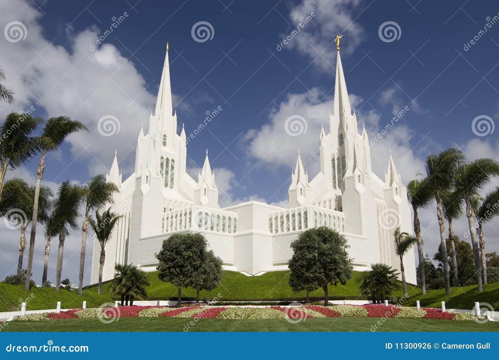 Mormonischer Tempel - San Diego, Kalifornien