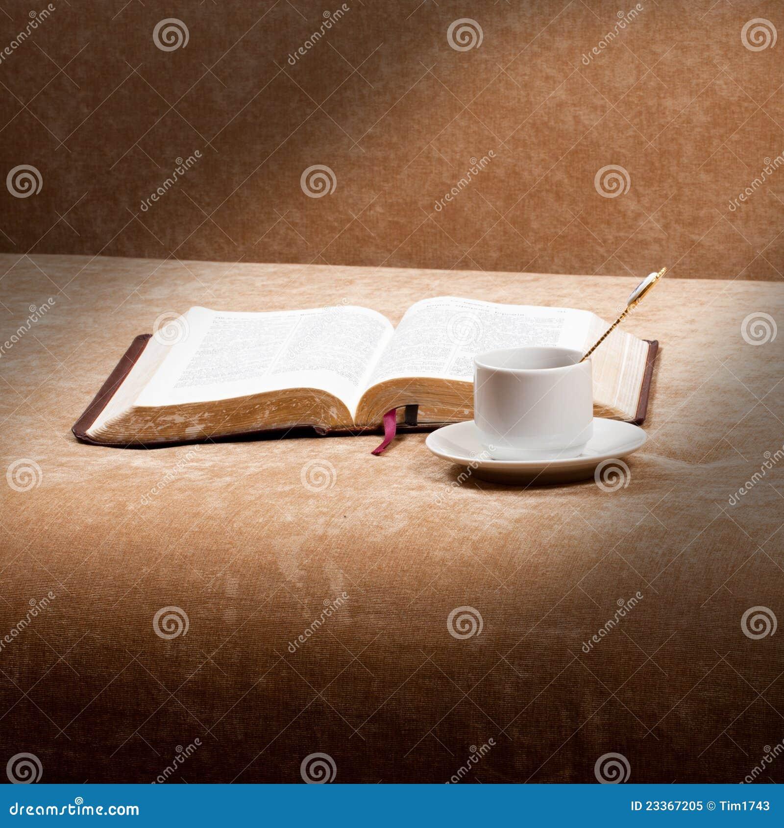 Morning Bible Reading Royalty Free Stock Photo - Image ...