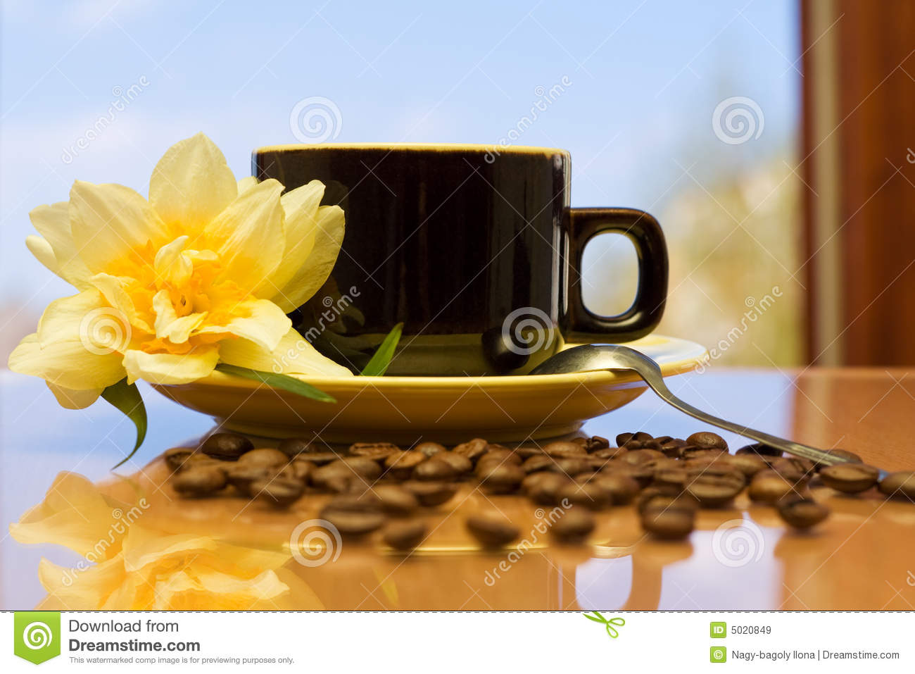 Morning Coffee Royalty Free Stock Images - Image: 5020849