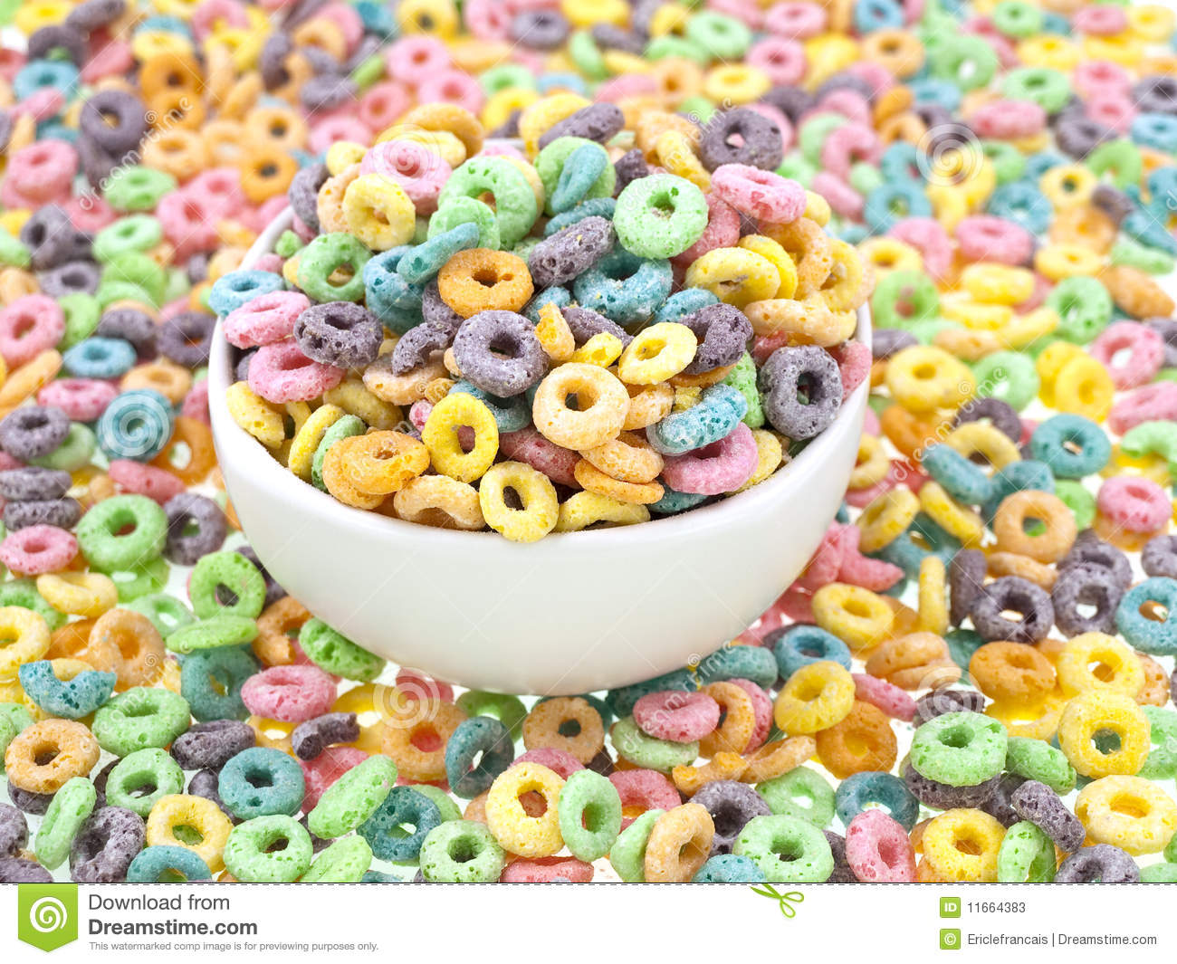 Morning colors table full stock photos image 11664383 for Tazon cereales