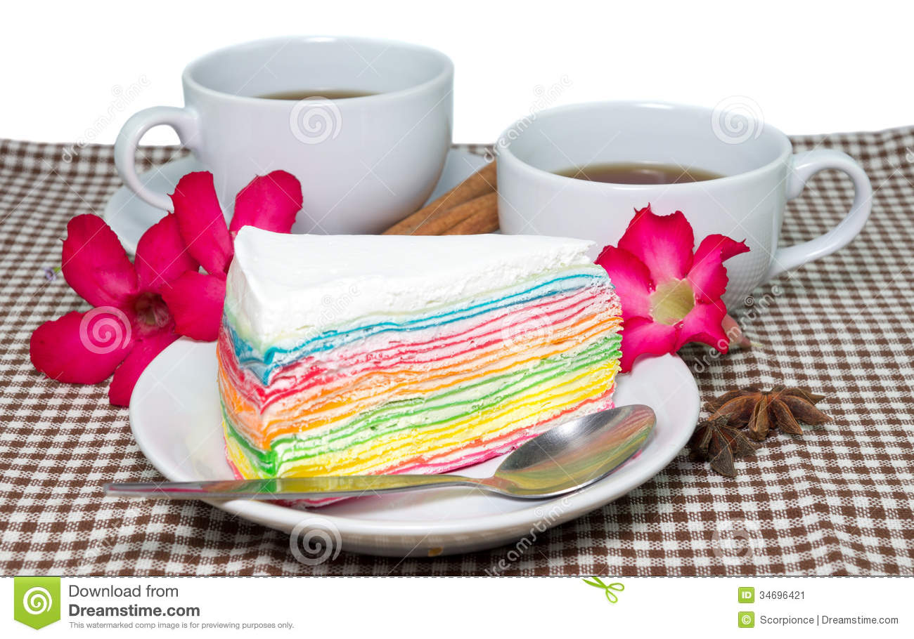 Morning Cups Of Tea Stock Image Image Of Eating Bakery
