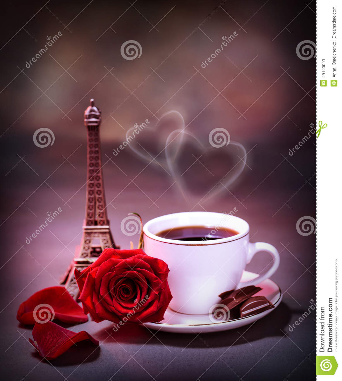 Morning Drink In Paris Stock Image Image Of Europe