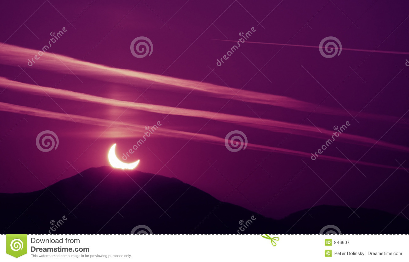 Morning Eclipse