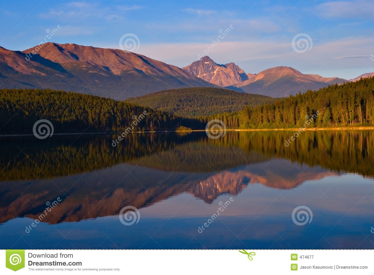 Download Morning Reflections stock image. Image of beautiful, outdoors - 474677