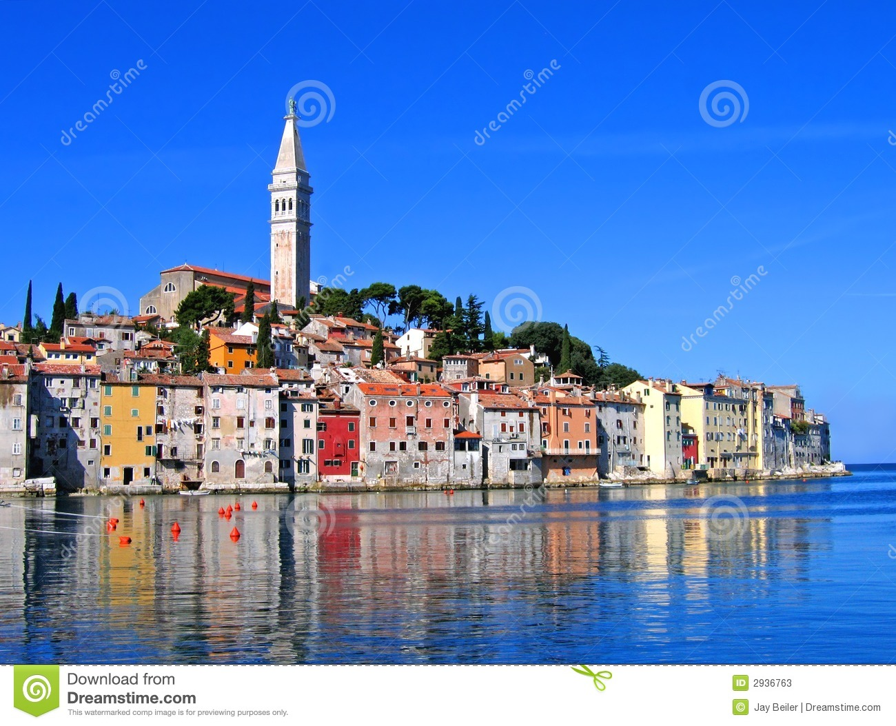 Morning In Rovinj, Croatia Stock Photos - Image: 2936763
