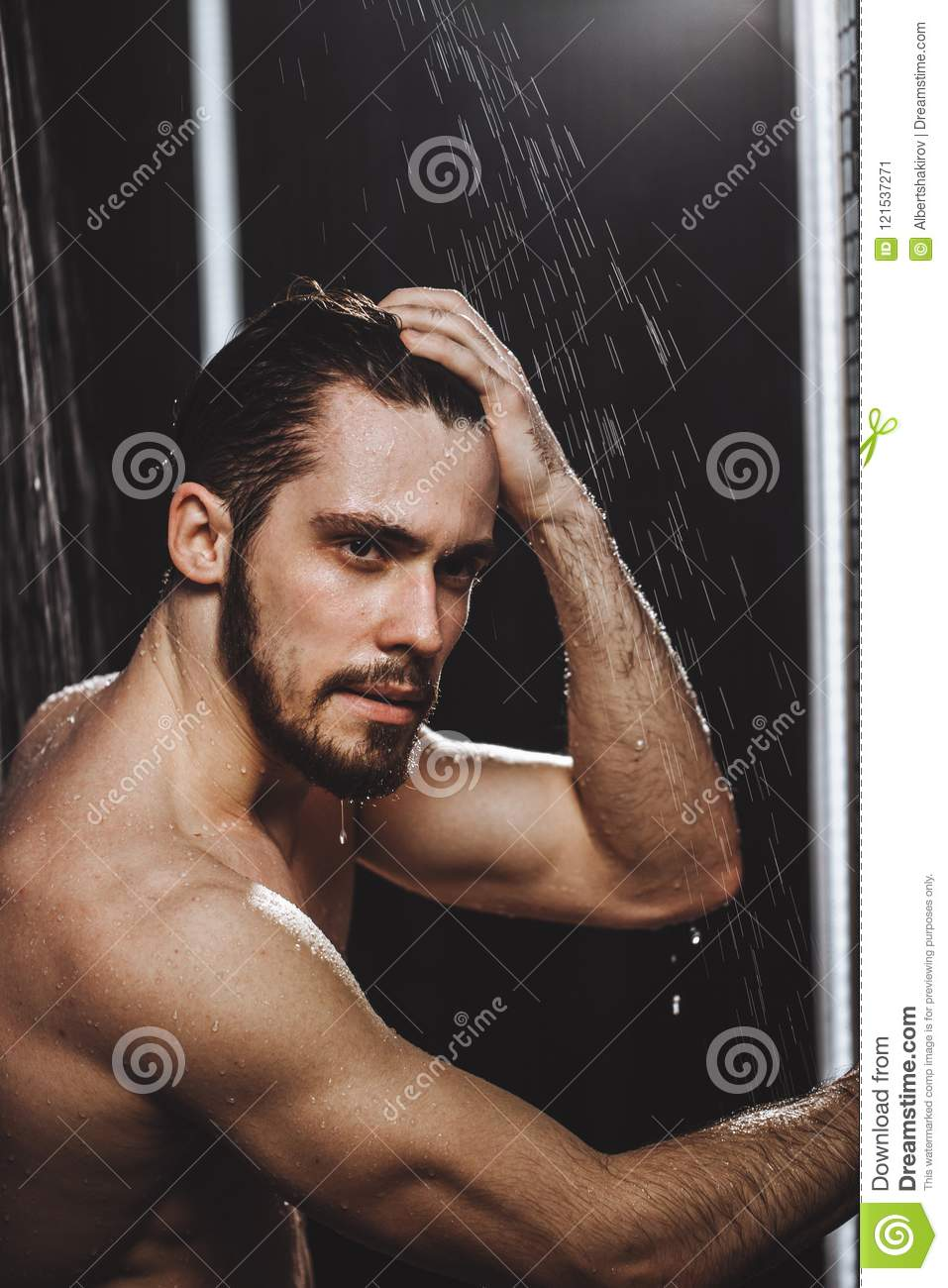 That can sexy black male in the shower share