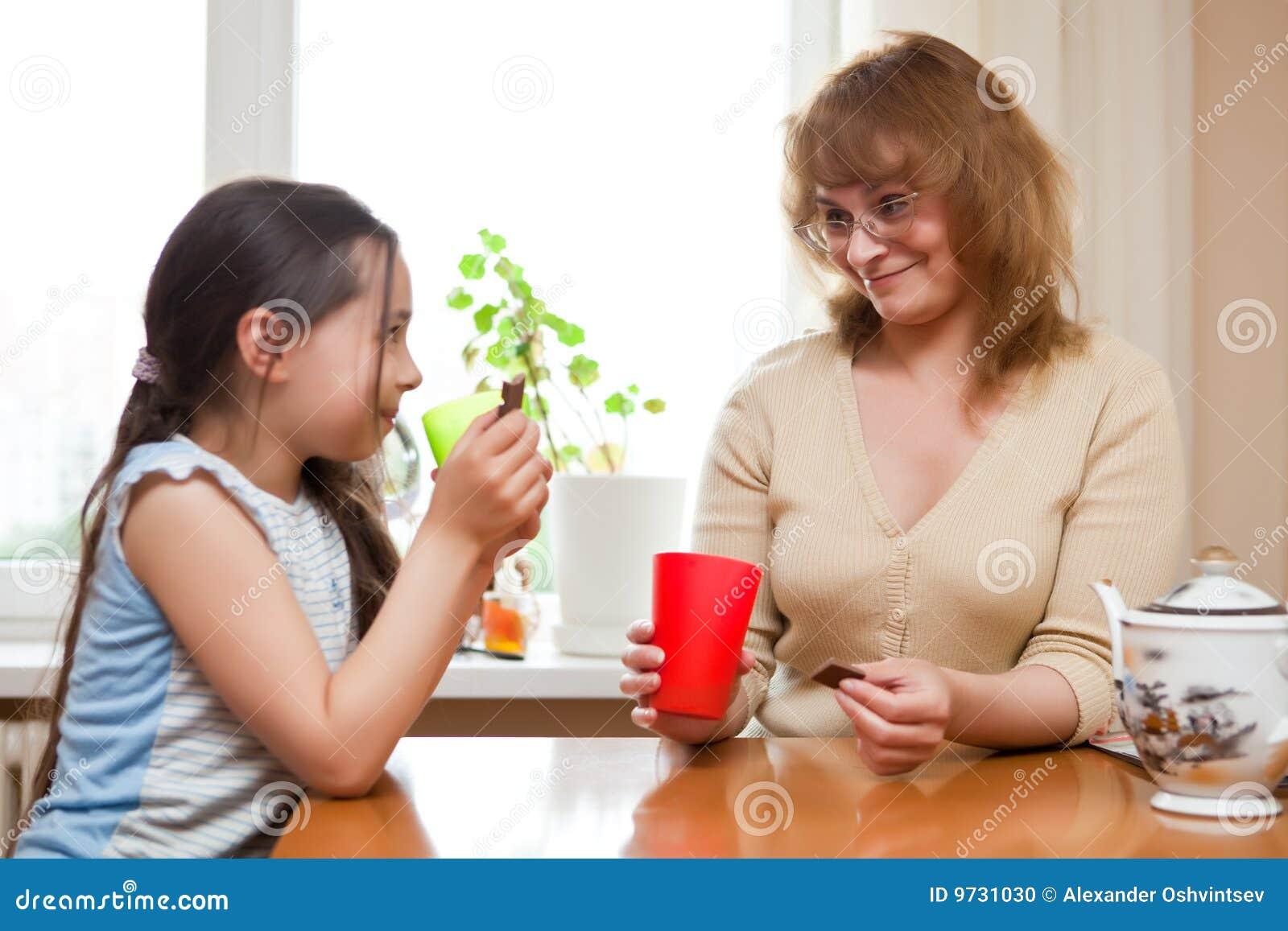 Развлечении матери с дочерью 10 фотография
