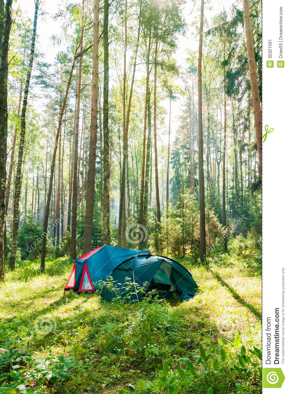 Morning tent