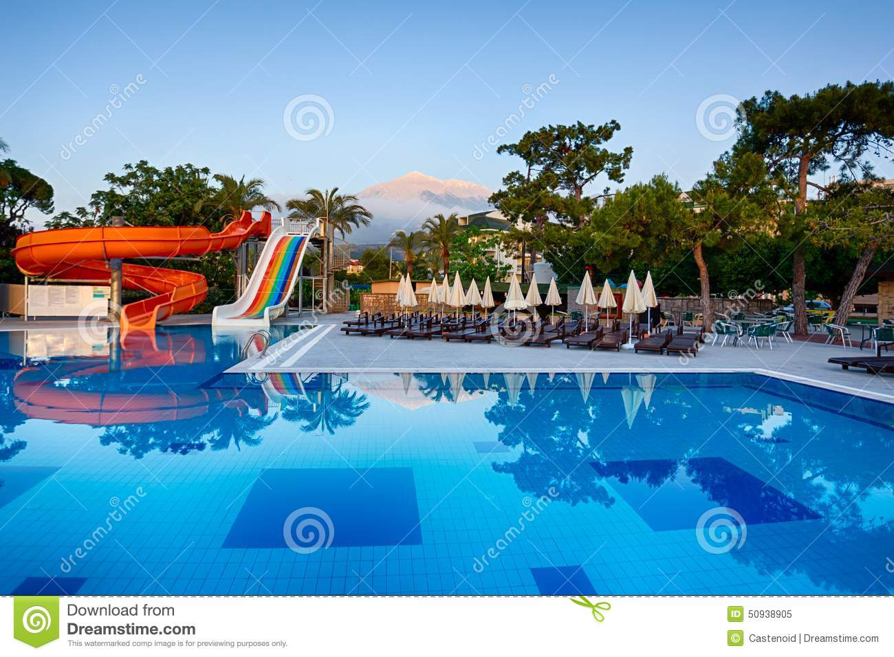 Morning At The Vacation Place Stock Photo Image 50938905