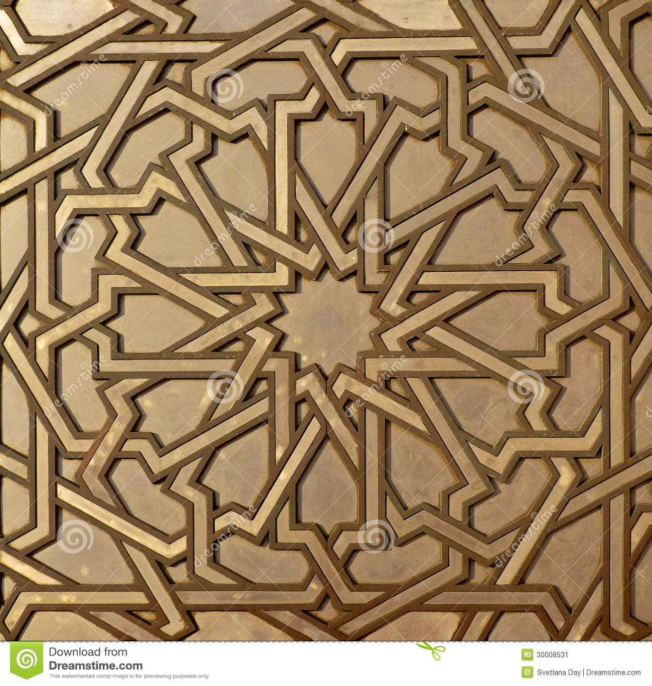Moroccan metal arabesque stock image image 30008531 for Arabesque style decoration