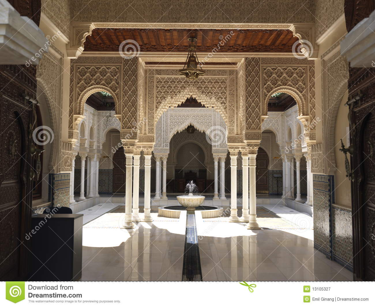 Moroccan architecture stock image image of travel east for Architecture marocaine