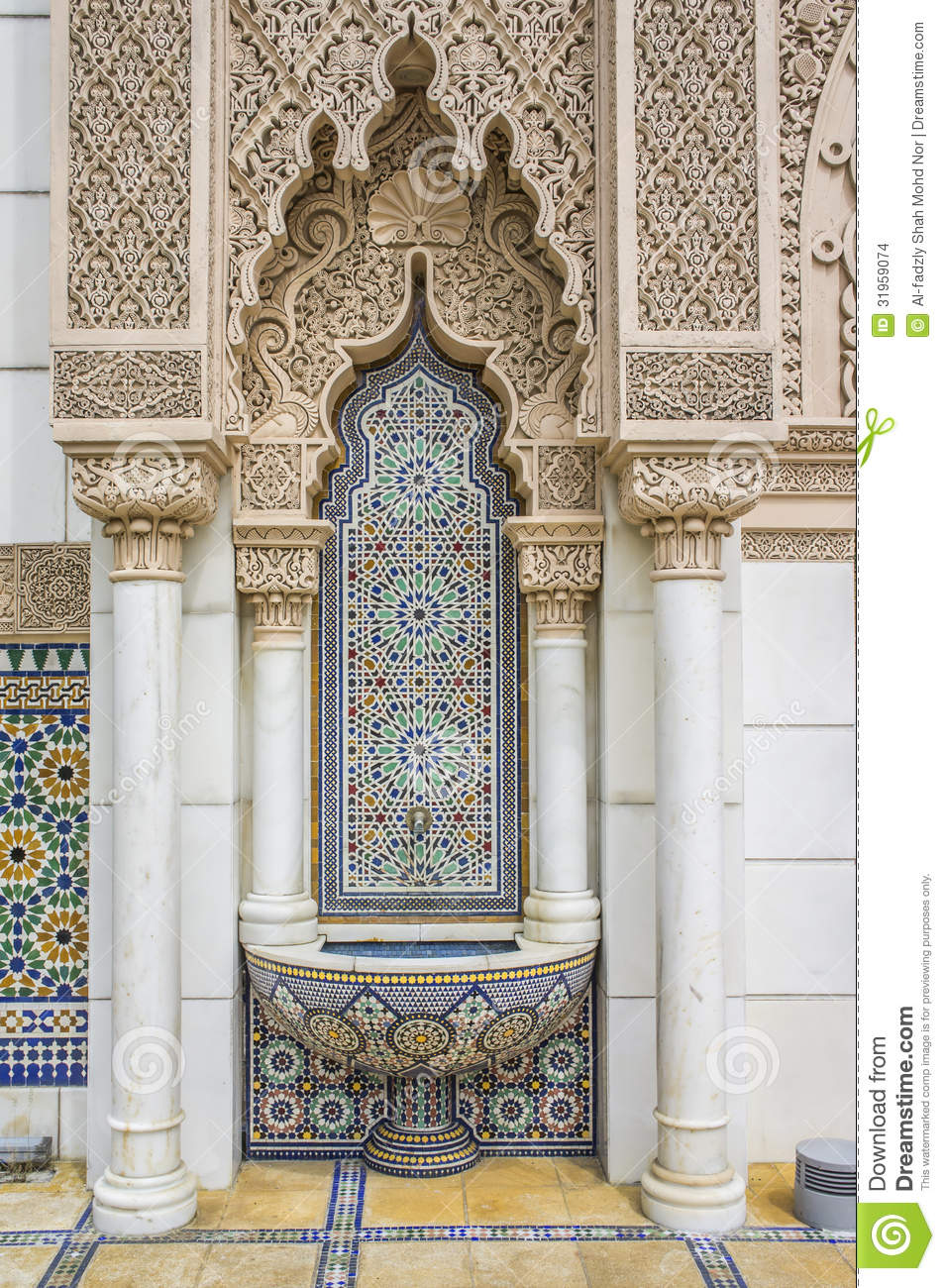 Moroccan Architecture Stock Images Image 31959074