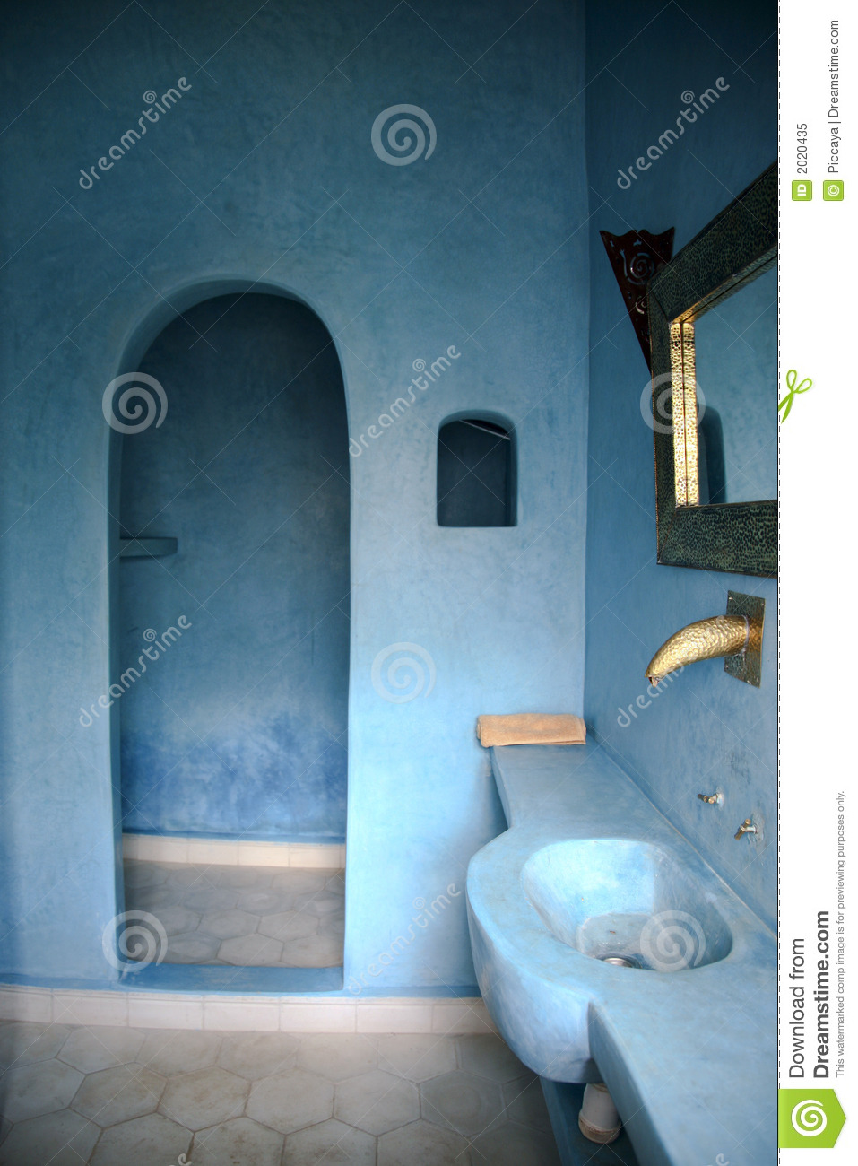 Country bathroom design - Moroccan Bathroom Royalty Free Stock Photo Image 2020435