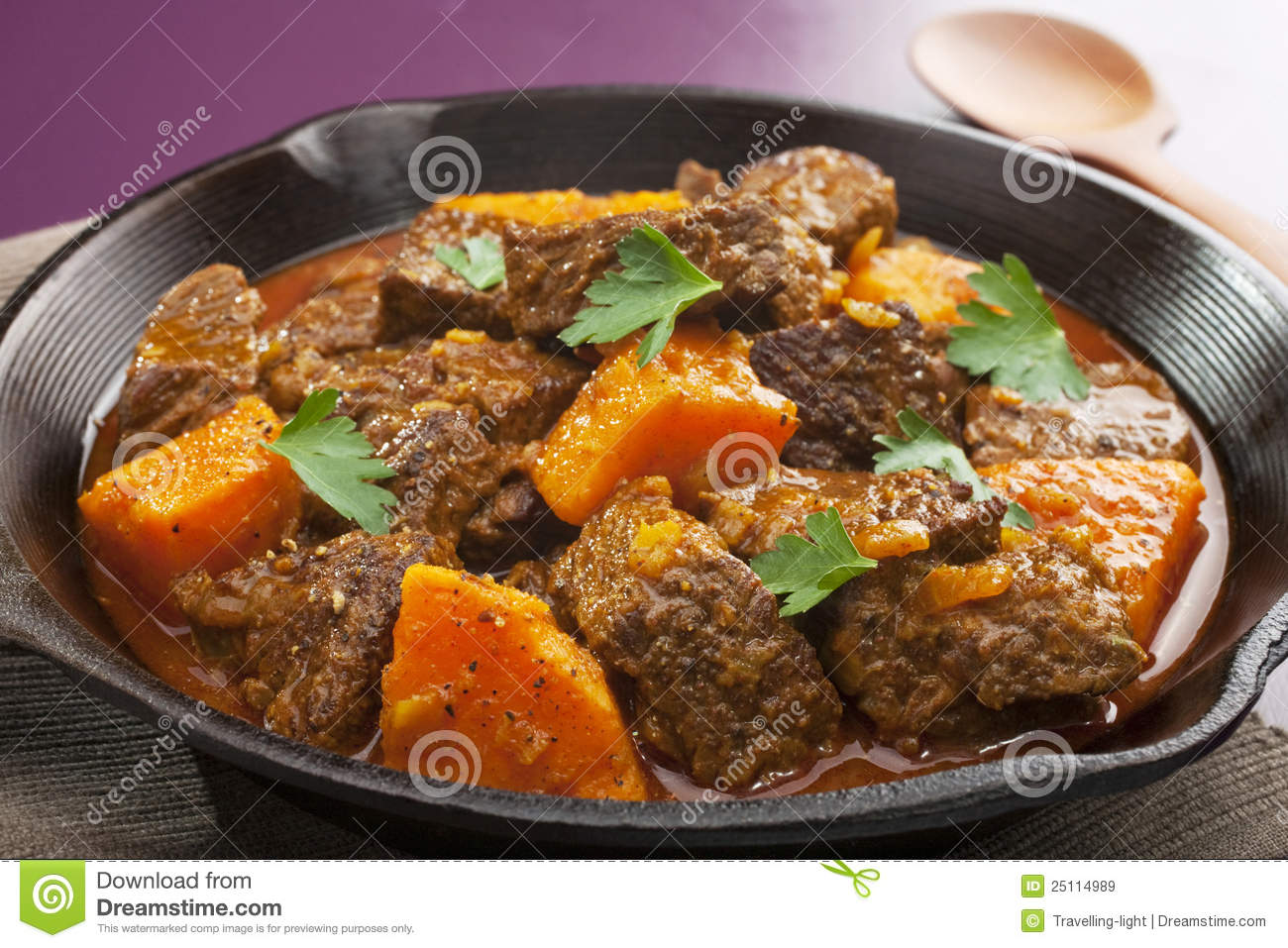 Download Moroccan Beef Tagine stock image. Image of food, sweet - 25114989