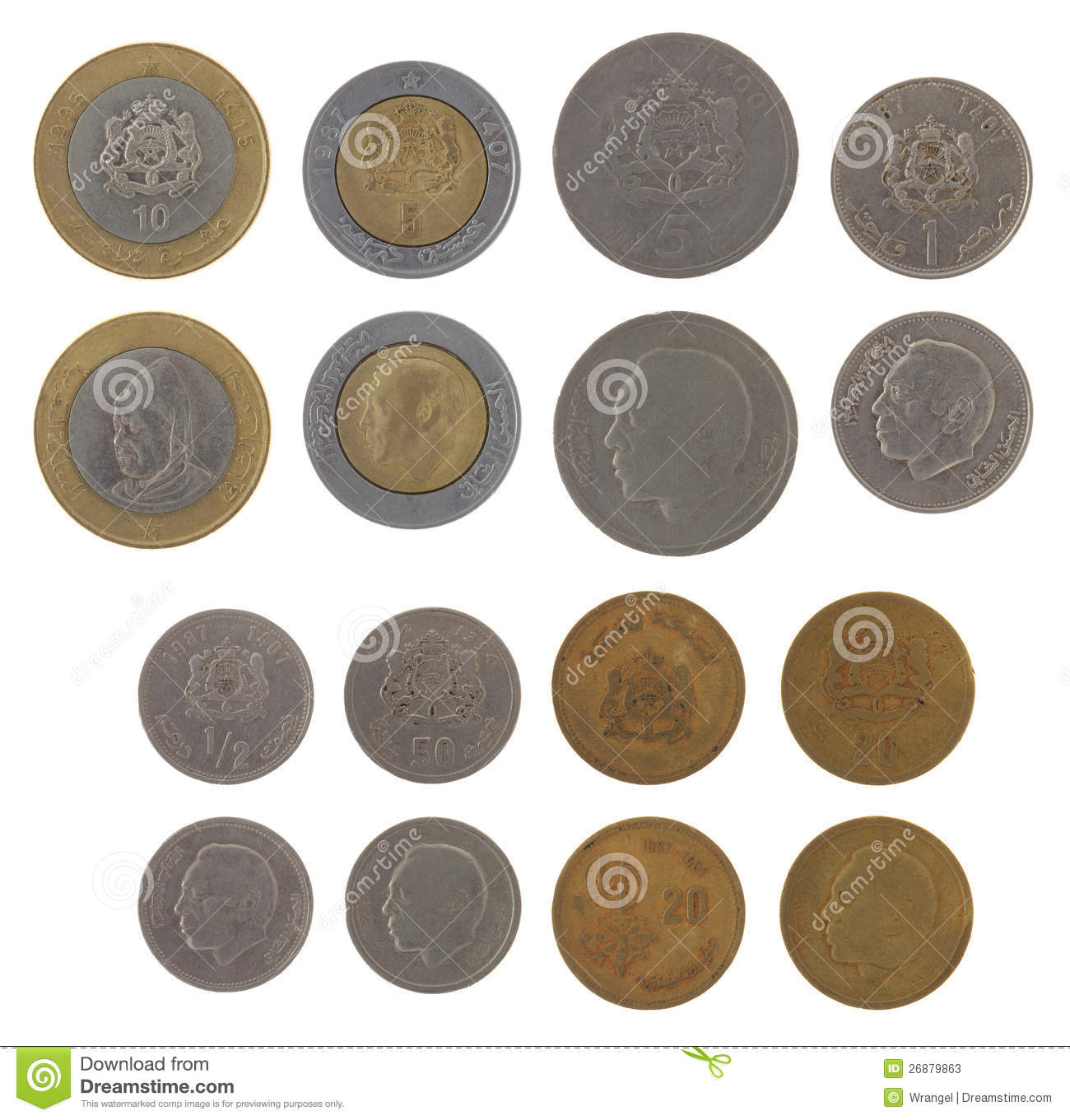 Moroccan Dirham Symbol http://www.dreamstime.com/stock-photos-moroccan-coins-isolated-white-image26879863