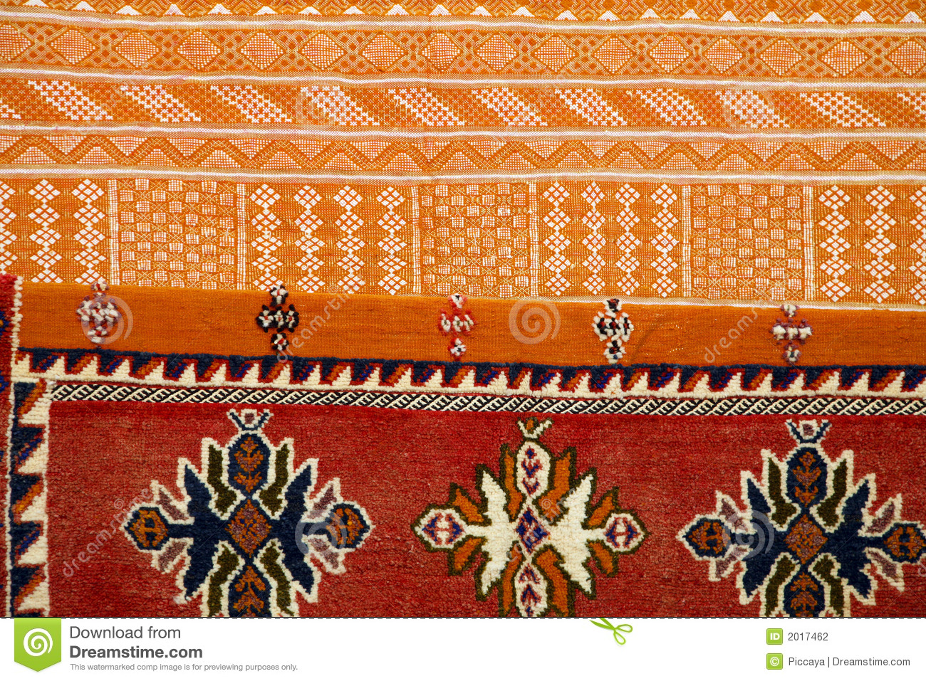 Moroccan Fabrics Stock Photo Image Of Design Material