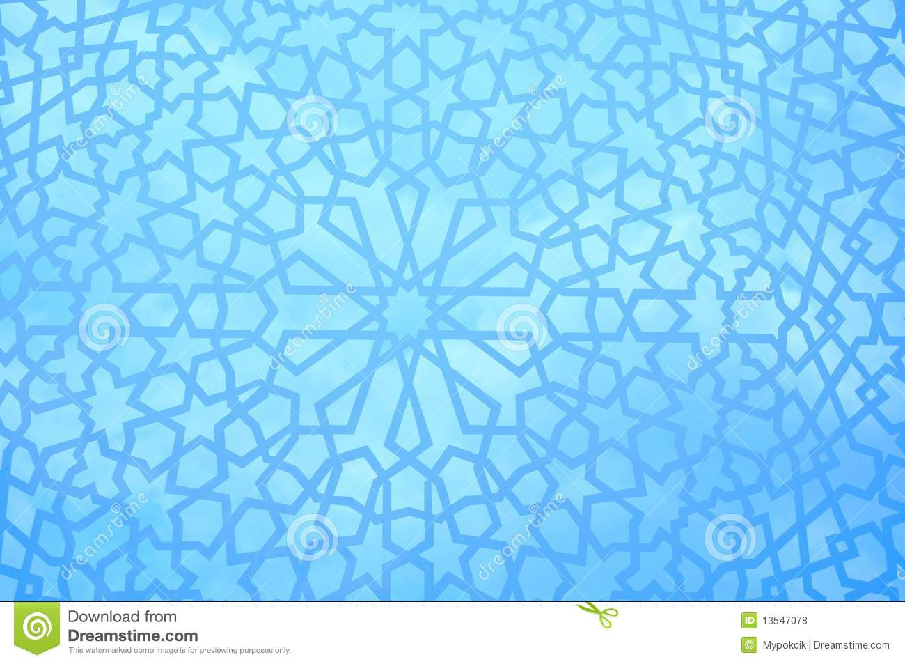 Moroccan Geometric Pattern Royalty Free Stock Photos
