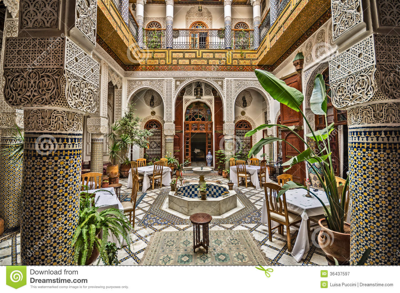 moroccan interior royalty free stock photography - image: 36437597