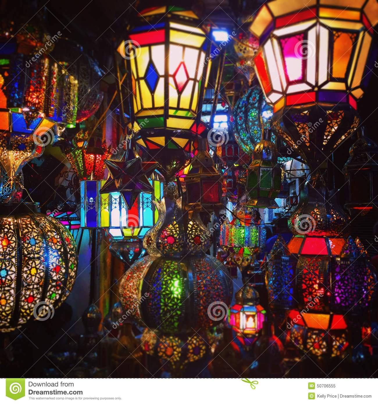 Moroccan lamps stock image. Image of display, stainedglass - 50706555 for Moroccan Lamp Photography  53kxo