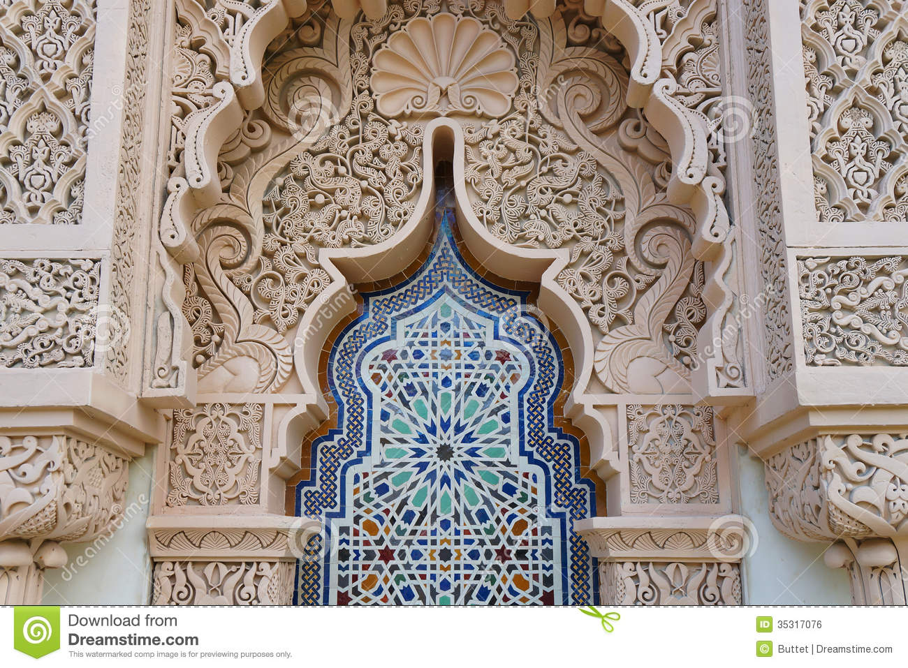 Moroccan Royalty Free Stock Image Image 35317076